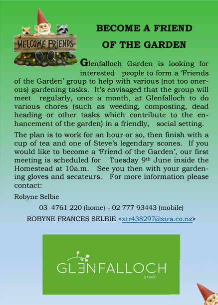 Become A Friend Of The Garden