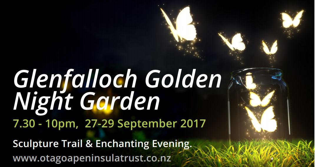 Golden Night Garden